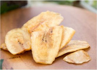バナナチップトースト